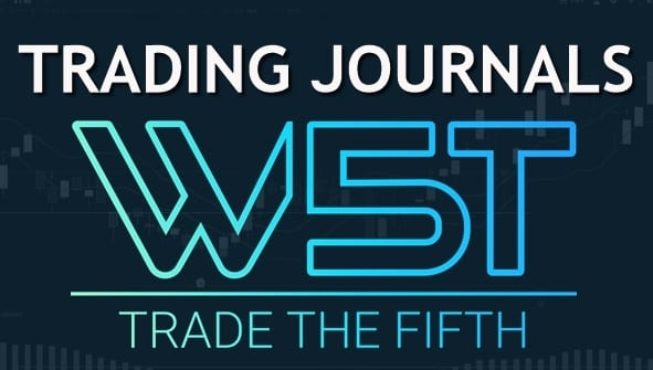 image of trading journals header