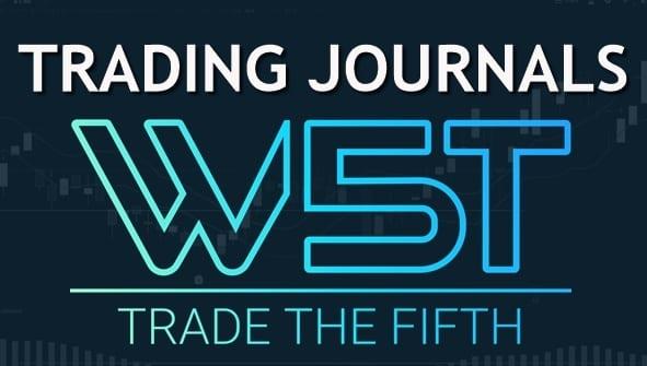 image of trading journals header