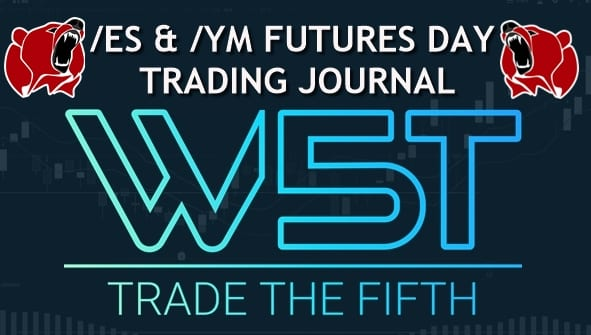 image of day trading futures video journal header