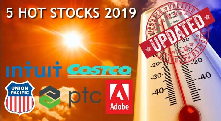 Hot Stocks 2019 – Top 5 Stocks for Trading with TradeTheFifth