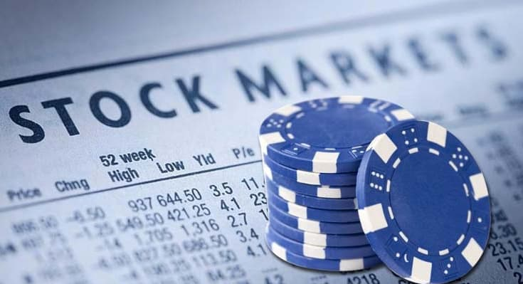 image of stocks market blue chip