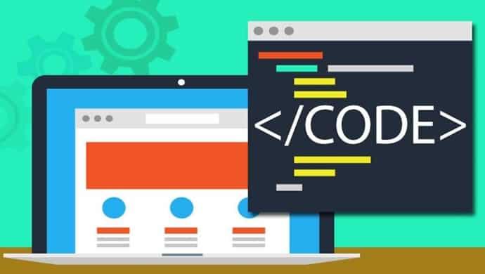 image of coding training header